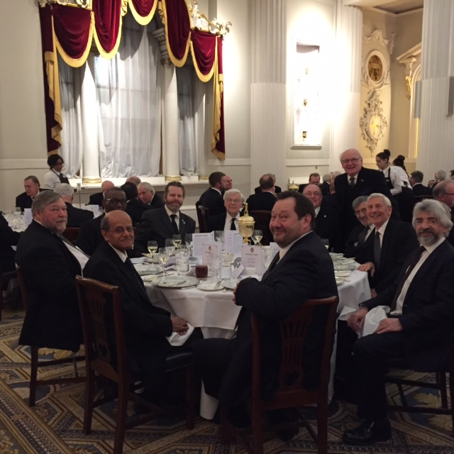 Guildhall Lodge Installation at The Mansion House 1 March 2017