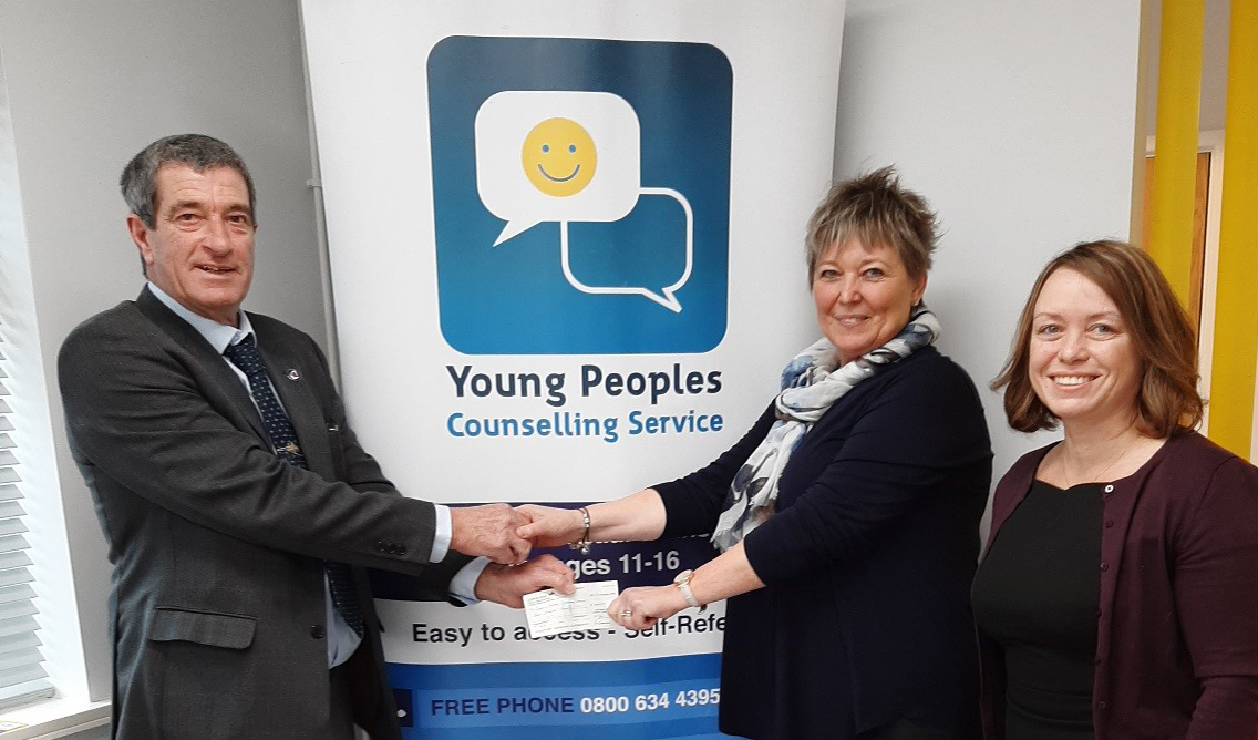 Young Persons Counselling Service donation